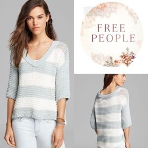Free People Park Slope V-neck Sweater - Small